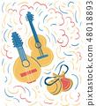 Spanish national instruments  48018893