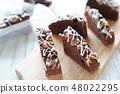 초콜릿 브라우니 48022295