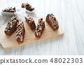 초콜릿 브라우니 48022303