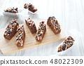 초콜릿 브라우니 48022309