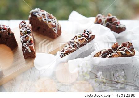 초콜릿 브라우니 48022399