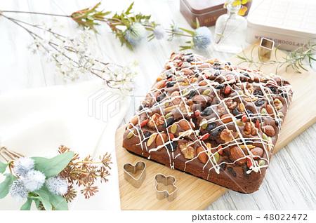 초콜릿 브라우니 48022472
