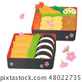 Ohanami lunch box 48022735