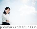 婦女呼籲在屋頂穿白色襯衣 48023335