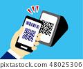현금없이 스마트 폰 48025306