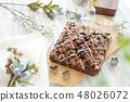 초콜릿 브라우니 48026072