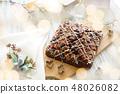 초콜릿 브라우니 48026082