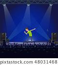 Music Performance Emotional Concert of Singer 48031468
