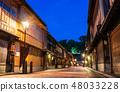金澤東茶屋街夜景 48033228