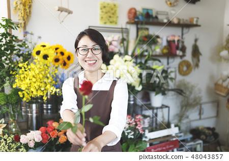 꽃집 아르바이트 이미지 48043857