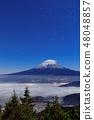 Co-starring Mt. Fuji and clouds (Shun Hai and Unkai) 48048857