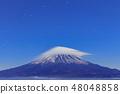 Co-starring Mt. Fuji and clouds (Shun Hai and Unkai) 48048858