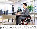 일본 유니버설 매너 협회 감수 소재 장애인 휠체어 비즈니스 48055771