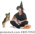 witch and pet 48057058