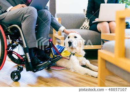 日本環球模特協會監督物質殘障輪椅業務 48057107