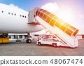 비행기, 사다리, 여객기 48067474