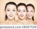 여성, 얼굴, 그룹 48067506