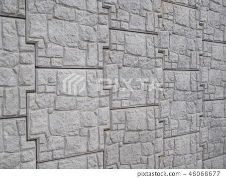 砌體混凝土擋土牆 48068677
