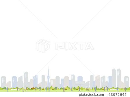 City People Illustration 48072645
