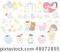 아기와 엄마 1 48072895