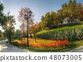Istambul Park in Odessa, Ukraine at fall 48073005