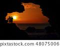 洞穴 海岸 夫婦 48075006