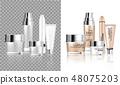 背景 瓶子 化妝品 48075203