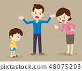 争论 儿童 孩子 48075293
