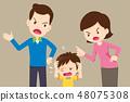 愤怒 冲突 儿童 48075308