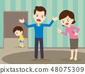 争论 儿童 孩子 48075309