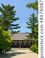 奈良·Toshodaiji寺 48076087