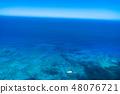 """""""夏威夷""""威基基海岸外的大洋""""航拍照片"""" 48076721"""