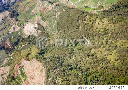 百岳 台灣 合歡山 山 合歓山 空拍 Hehuan Mountain 48083445