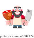 Cartoon Vector Illustration 48087174