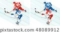 冰球 曲棍球 运动 48089912