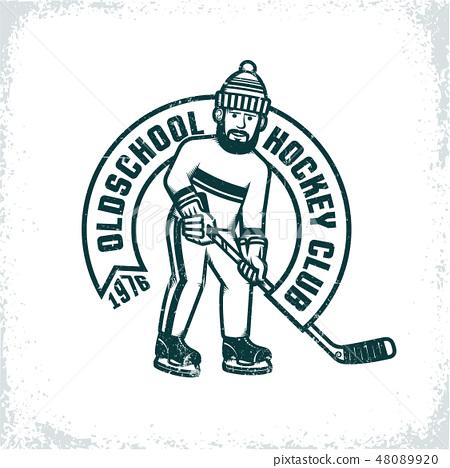 Logo of an amateur hockey club 48089920