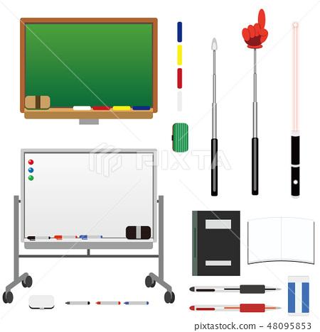 黑板等學校教育·教師插圖集學校教育·教師圖標 48095853
