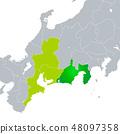 靜岡縣地圖東海地區 48097358