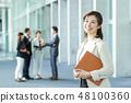 營業所女商人 48100360