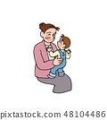 奶奶和孫子一起玩 48104486