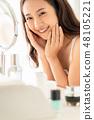 女性美容化妆 48105221