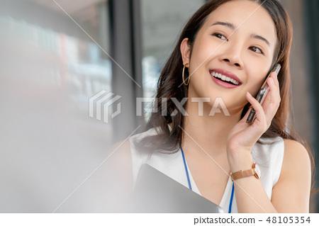 여성 비즈니스 우먼 48105354
