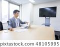 視頻會議Web會議商業形像大會在線會議在線學習 48105995