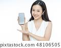 Female Portrait Smartphone 48106505