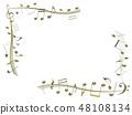 CG 3D 일러스트 디자인 입체 마크 음표 음악 사운드 배경 투명 장식 금 자르기 48108134