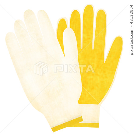 Hand-painted gloves 48122934