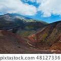 Etna volcano view, Sicily, Italy 48127336