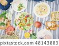 피크닉 요리 이미지 48143883