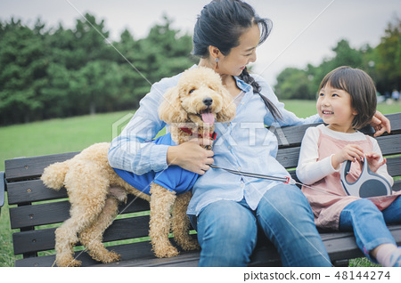 狗和Osanpo圖像 48144274