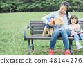狗和Osanpo圖像 48144276